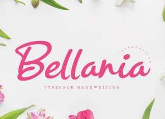 Bellania Script Font
