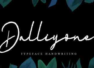 Dalliyone Script Font