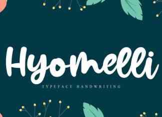 Hyomelli Script Font