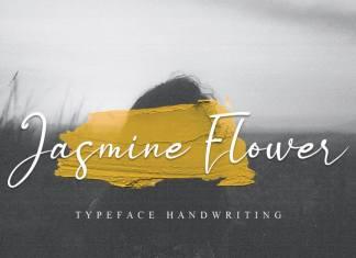 Jasmine Flower Handwritten Font