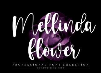 Mellinda Flower Script Font