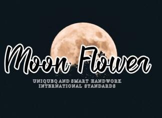 Moon Flower Script Font