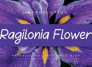 Ragilonia Flower Handwritten Font