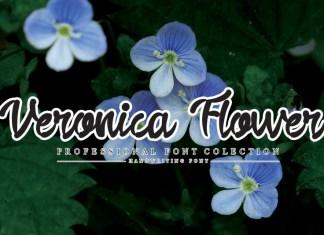 Veronica Flower Script Font