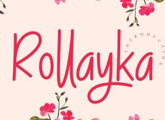 Rollayka Script Font