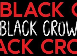 BLACK CROW Brush Font