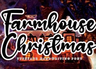 Farmhouse Christmas Script Font