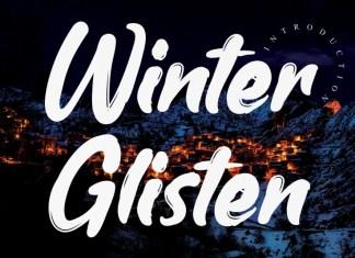 Winter Glisten Script Font