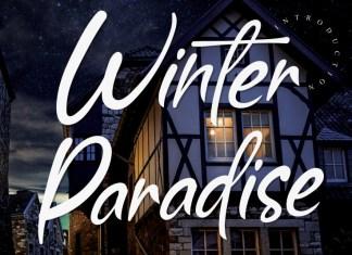 Winter Paradise Script Font