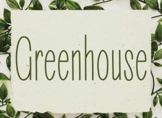 Greenhouse Handwritten Font