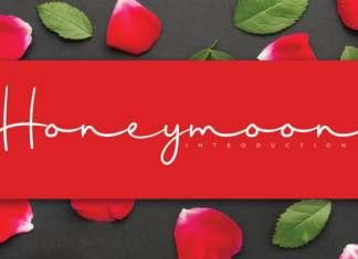 Honeymoon Handwritten Font