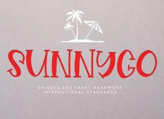 Sunnygo Display Font