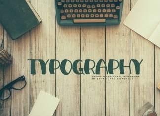 Typography Display Font