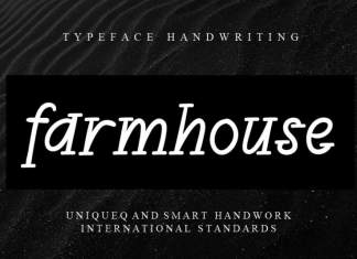 Farmhouse Display Font