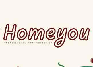 Homeyou Display Font