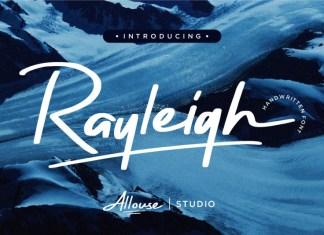 Rayleigh Brush Font