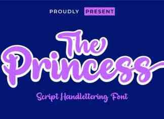 The Princess Script Font