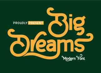 Big Dreams Display Font
