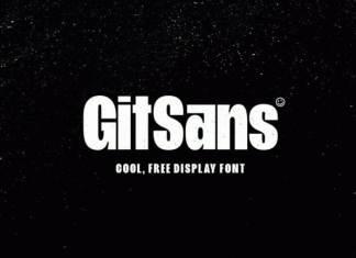 GitSans Sans Serif Font