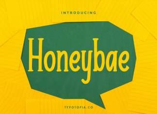 Honeybae - Fun Display Font