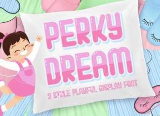 Perky Dream Display Font