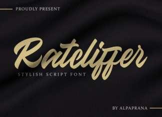 Ratcliffer - Modern Script Font