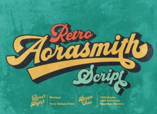 Aorasmith Script Font