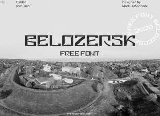 Belozersk Display Font