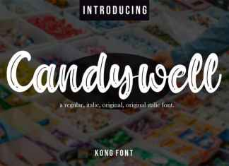 Candywell Brush Font
