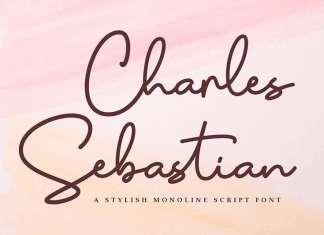 Charles Sebastian Handwritten Font