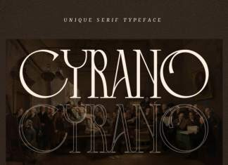 Cyrano Serif Font