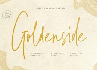 Goldenside Handwriting Font