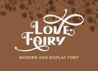 Love Fairy Display Font