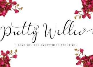 Pretty Willie Calligraphy Font