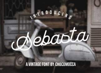 Sebasta Vintage Font
