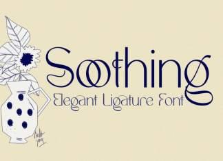 Soothing – Unique Ligature Font