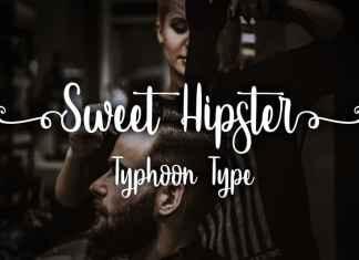 Sweet Hipster Script Font