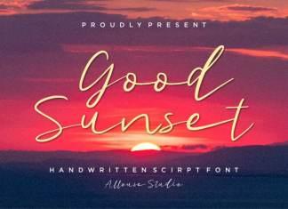 Good Sunset Script Font