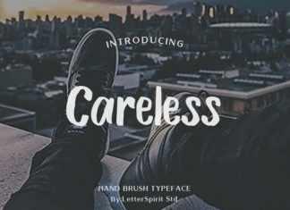 Careless Brush Font