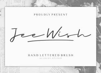 Jee Wish Handwritten Font