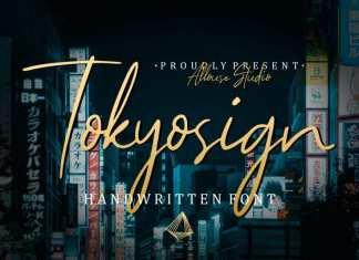 Tokyosign Script Font