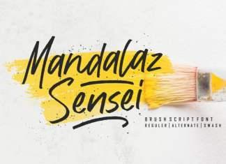 Mandalaz Sensei Script Font