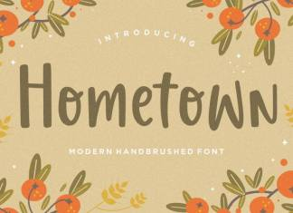 Hometown Display Font