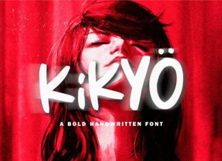 Kikyo Display Font