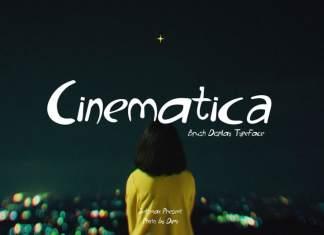 Cinematica Font