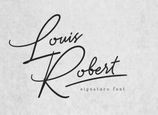 Louis Robert Script Font