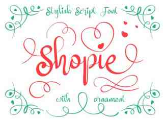 Shopie Calligraphy Font