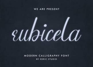 Rubicela Calligraphy Font