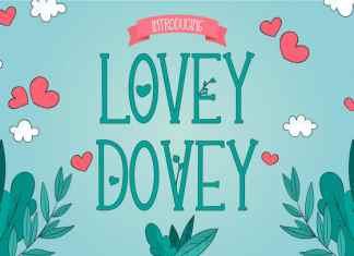Lovey Dovey Serif Font