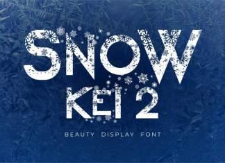 Snow Kei 2 Display Font